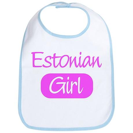 Estonian girl Bib