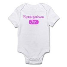 Equatoguinean girl Infant Bodysuit