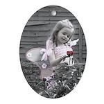 Little Pink Fairy Keepsake (Oval)