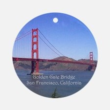 San Francisco Souvenir Ornament (Round)