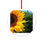 Sunflower Keepsake (Round)