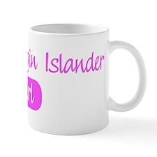 British Virgin Islander girl Mug