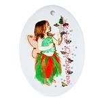 Christmas Fairy Keepsake (Oval)