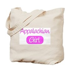 Appalachian girl Tote Bag
