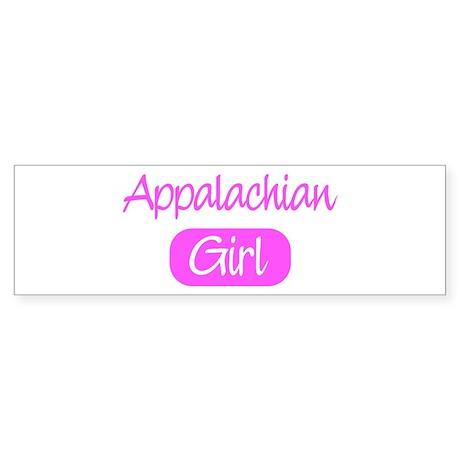 Appalachian girl Bumper Sticker (50 pk)