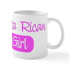 Costa Rican girl Mug