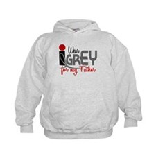 I Wear Grey For My Father 32 Hoody