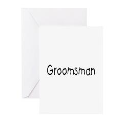 Groomsman Greeting Cards (Pk of 10)