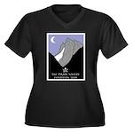 Pirate ValleyWomen's Plus Size V-Neck Dark T-Shirt