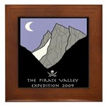 Pirate Valley Expedition Framed Tile