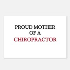 Proud Mother Of A CHIROPRACTOR Postcards (Package