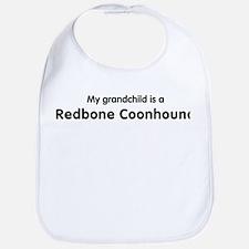 Redbone Coonhound grandchild Bib