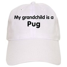 Pug grandchild Baseball Cap