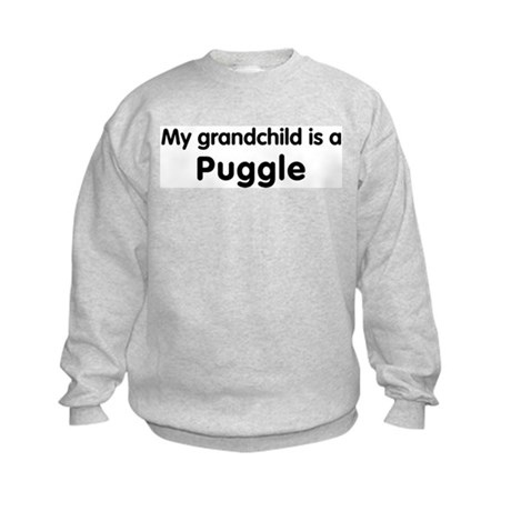 Puggle grandchild Kids Sweatshirt