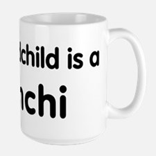 Pomchi grandchild Mug