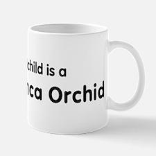 Peruvian Inca Orchid grandchi Mug