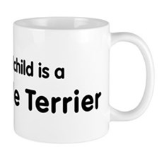 Patterdale Terrier grandchild Mug