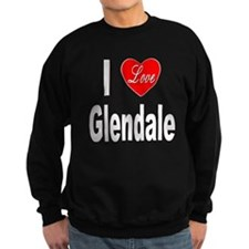 I Love Glendale (Front) Sweatshirt