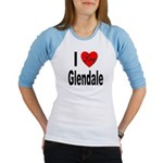 I Love Glendale (Front) Jr. Raglan