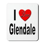 I Love Glendale Mousepad