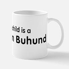 Norwegian Buhund grandchild Mug