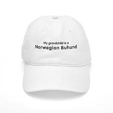 Norwegian Buhund grandchild Baseball Cap