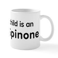 Italian Spinone grandchild Small Mug