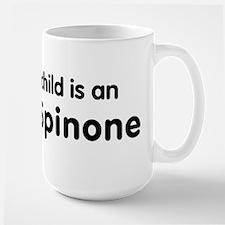 Italian Spinone grandchild Mug