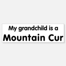 Mountain Cur grandchild Bumper Bumper Bumper Sticker