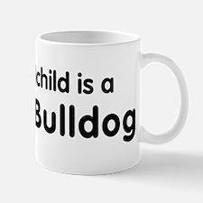 French Bulldog grandchild Mug