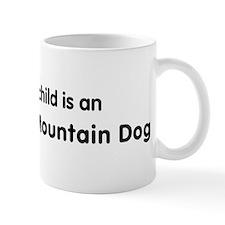 Entlebucher Mountain Dog gran Small Small Mug