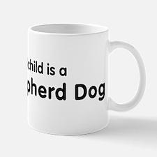 Dutch Shepherd Dog grandchild Small Mugs