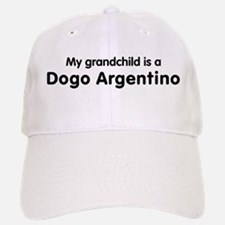 Dogo Argentino grandchild Baseball Baseball Cap