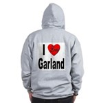 I Love Garland (Back) Zip Hoodie