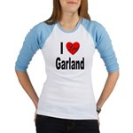 I Love Garland (Front) Jr. Raglan