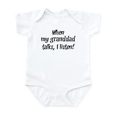 I listen to granddad Onesie