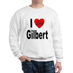 I Love Gilbert (Front) Sweatshirt