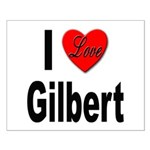 I Love Gilbert Small Poster