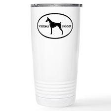 Doberman Pinscher Travel Mug