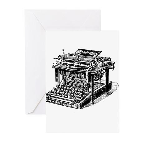 Typewriter Greeting Cards (Pk of 20)