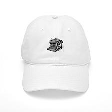 Typewriter Baseball Cap