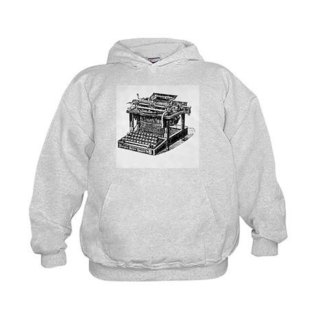 Typewriter Kids Hoodie