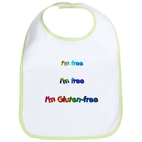 I'm Free I'm Free I'm Gluten-Free Bib