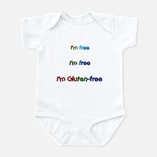 I'm Free I'm Free I'm Gluten- Infant Bodysuit