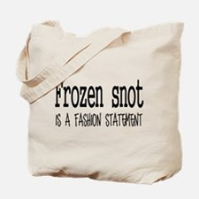 Frozen snot Tote Bag