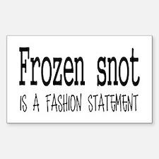 Frozen snot Decal