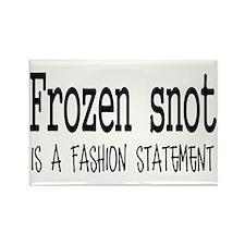 Frozen snot Rectangle Magnet