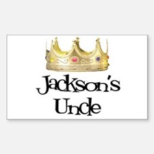 Jackson's Uncle Rectangle Decal