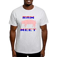 """Raw Meet """"No Logo"""" T-Shirt"""