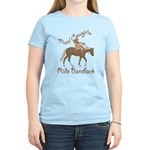 Real Cowgirls Ride Bareback Women's Light T-Shirt